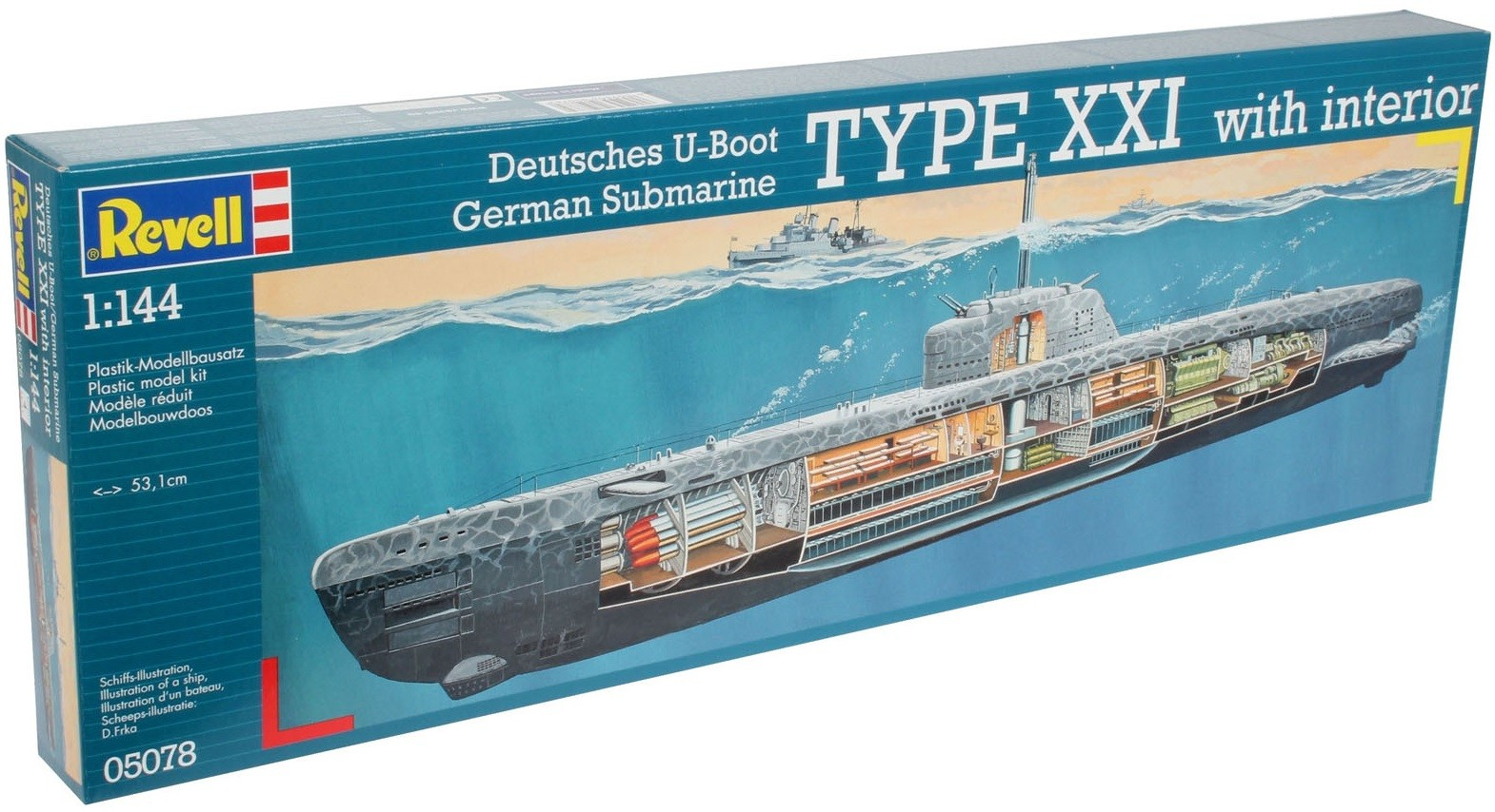 Japan style u boat xxi type w interieur articoli da for Interieur u boat