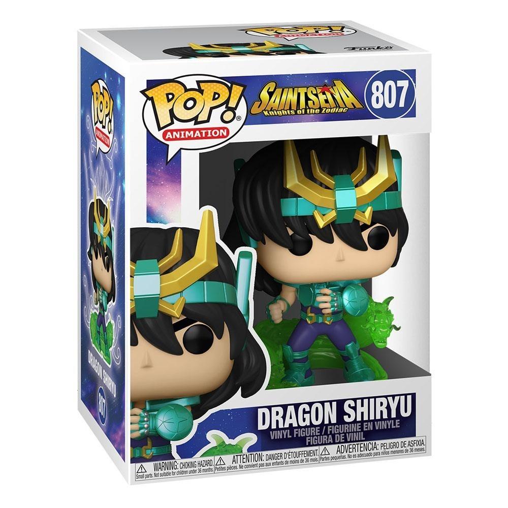 Saint Seiya POP! Animation Vinyl Figure Dragon Shiryu