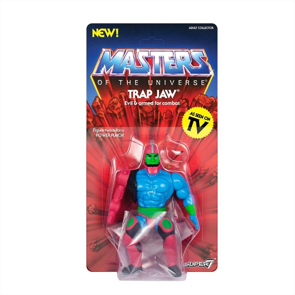 Masters of the Universe Vintage Collection Action Figure Trap Jaw