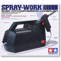 Spray Work Basic Compressor Set (Air Brush Included)