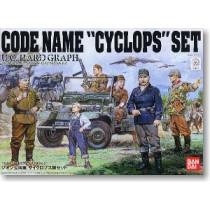 Zeon Cyclops Team set Bandai