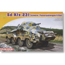Sd.Kfz.231 8-Rad w/2cm KwK 30 Cannon Plus MG34 Machine Gun