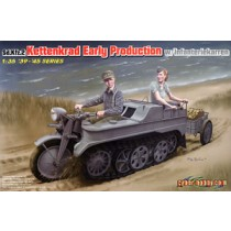 Sd.Kfz.2 Kettenkrad Early Production w/Infantry Cart
