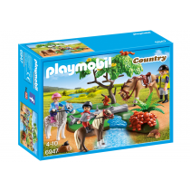 Trip with horses Playmobil