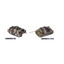 Flammpanzer 38(t) + Jagdpanzer IV L/70(A)