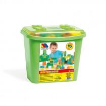 Molto blocks 90 pezzi - cubo verde