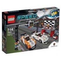 SPEED CHAMPIONS® Linea del traguardo Porsche 911 GT
