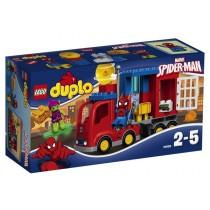 DUPLO® SUPER HEROES L'avventura del camion-ragno di Spiderman