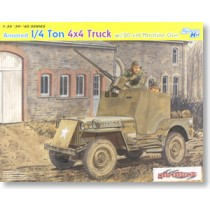 1/4 Ton Armored 4x4 Truck w/ .50-cal Machine Gun