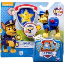 Paw Patrol Chase action pack pup & badge Spin Master