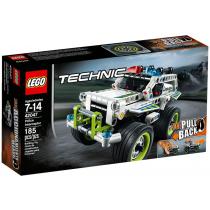 Intercettore della polizia Lego Technic