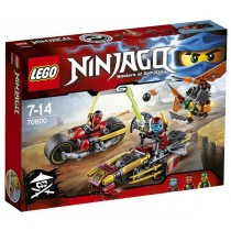Inseguimento sulla modo dei ninja Lego Ninjago