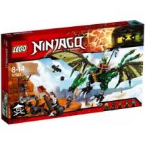 Ninjago NRG II Dragone Verde di Lloyd