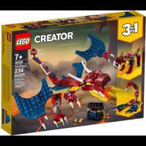 31102 CREATOR Drago del fuoco