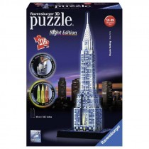 Puzzle 3D Night Edition Chrysler Building