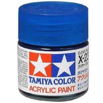 X-23 Clear Blue. Tamiya Color Acrylic Paint (Gloss) – Colori lucidi
