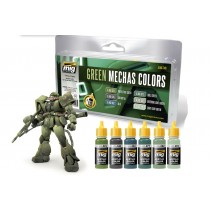 Green Mechas Colors set7149