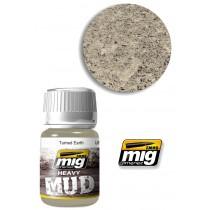 Heavy mud texture turned earth 1702