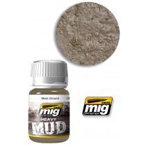 Heavy mud texture moist groundy 1703