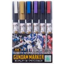 Gundam Marker GMS-124 Advanced set
