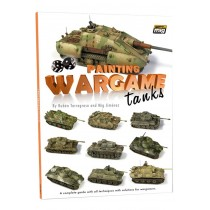 Painting Wargame tanks English edition