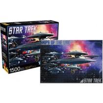 Star Trek Ships O/T Line 1500 puzzle Aquarius ent