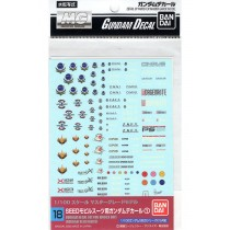 Gundam decal 18 MG multi seed Bandai