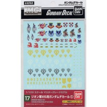Gundam decal 17 Multi Zeon MG Bandai