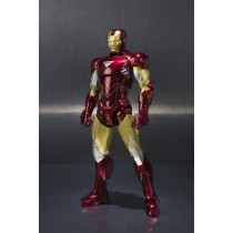 Iron Man Mark VI + Hall of armor set Bandai