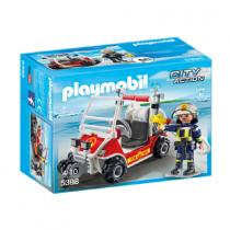 Unità mobile vigili del fuoco Playmobil