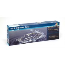 U.S.S. Kitty Hawk CV-63 Italeri