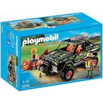 Wild life Playmobil Jeep