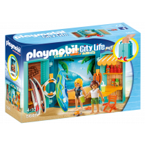 Play box L'angolo del surf Playmobil