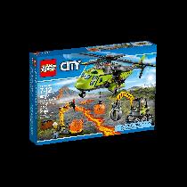 CITY Elicottero dei rifornimenti vulcanico Lego