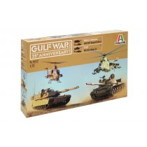 Gulf war 25th anniversary battle set