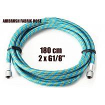 Airbrush Fabric Hose G1/8H G1/8H  180 cm