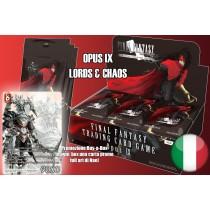 FFTCG OPUS IX BOOSTERS BOX ITALIAN (36) buste