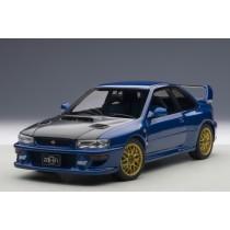 Subaru Impreza 22B 1998 Up-Graded Version Blue 1:18