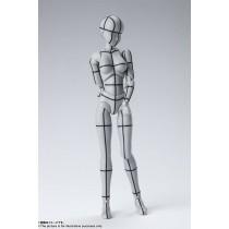 Body Chan Wireframe Gray