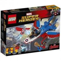 Captain America jet 76076 Lego