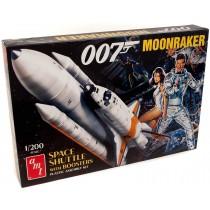 James Bond Moonraker Shuttle model kit