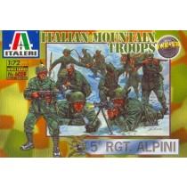 Italian Mountain Troops Alpini