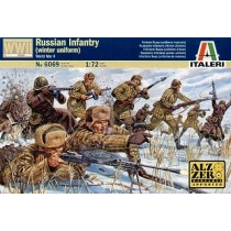 Russian Infantry : winter unif
