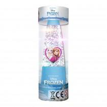 Frozen Lampada con Glitter e luci 15 cm