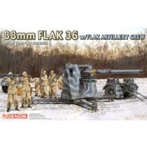 88mm FLAK 36 w/ Flack Artillery Crew