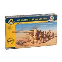 8.8 cm. FLAK 37 AA Gun