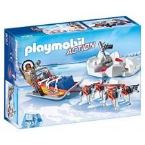 Slitta con Husky Playmobil