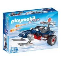 Predatore con motoslitta Playmobil
