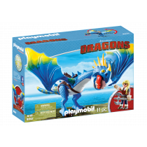 Playmobil Dragons Astrid e Tempestosa