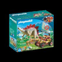 Veicolo degli esploratori e Stegosauro 9432